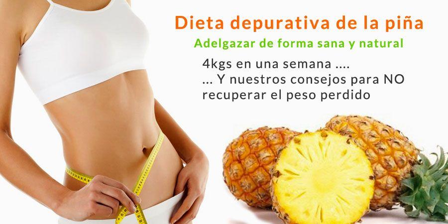 dieta rapida para adelgazar 3 kilos en una semana