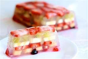 Gelatina de frutas