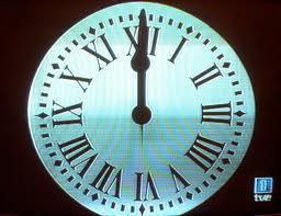 Reloj de las uvas de nochevieja