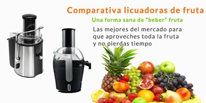comparativa de licuadoras de zumo