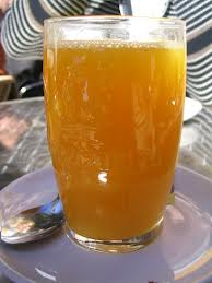 zumo manzana zanahoria rabano