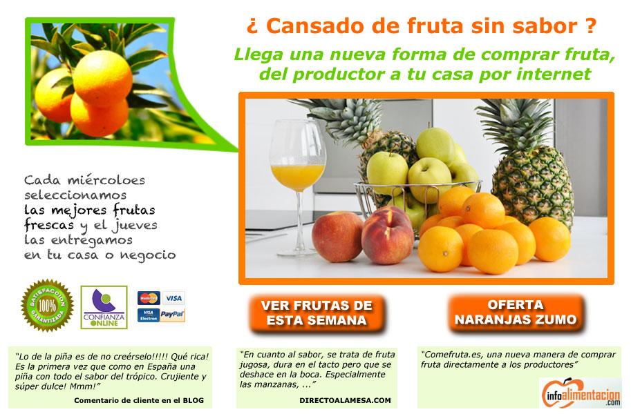 naranjas zumo baratas