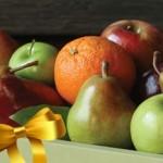 Regalar fruta en Navidad