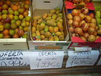 Frutas y verduras: De la gran superficie al comercio chino