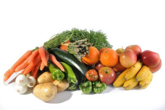 Mix de frutas y verduras