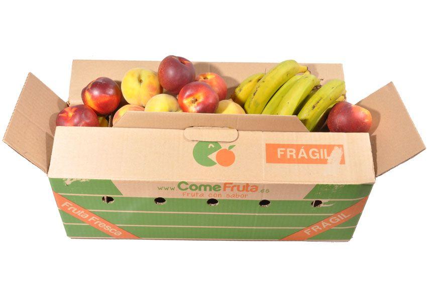 Fotos de nuestras cajas de fruta y verdura tomadas por clientes