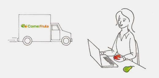 Compra de frutas para oficinas