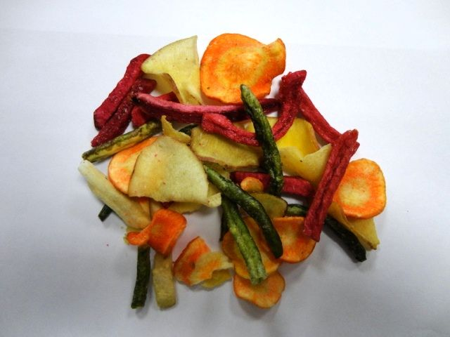 Verduras deshidratadas variadas
