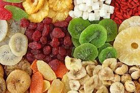 Propiedades frutas deshidratadas variadas
