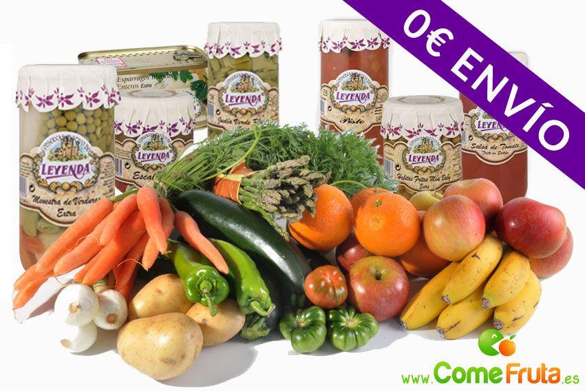 fruta y verdura y conservas