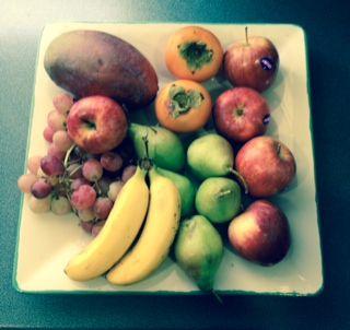 fruta vs pincho de tortilla