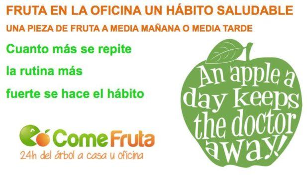 Una manzana al día, un hábito muy saludable