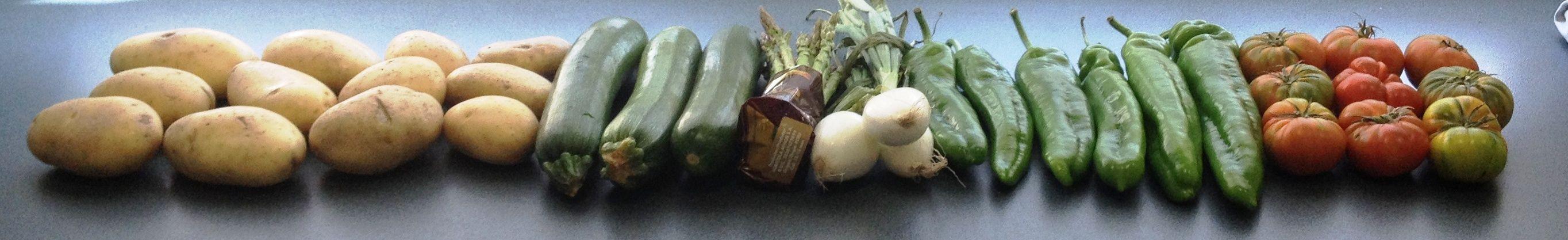 El antes y el después del mix verduras