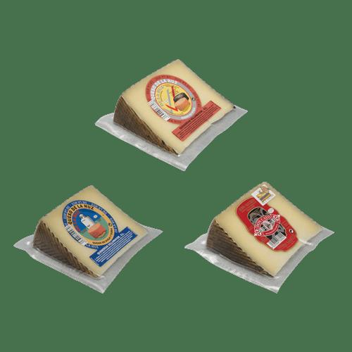 Surtido de 3 quesos manchegos
