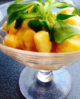temporada de piña: recetas de piña para cenar