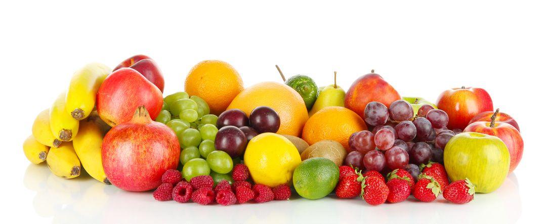 fruta recién recogida