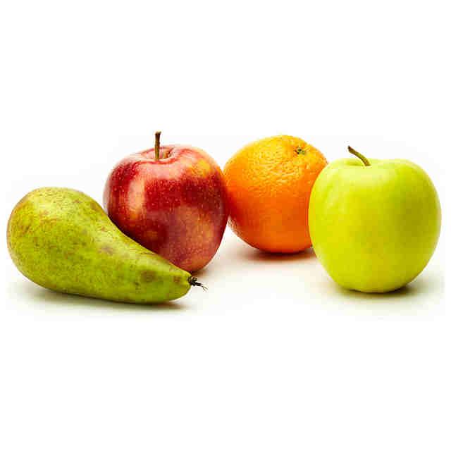 Comprar mix frutas b sicas manzana pera y naranja online - Pure de castanas y manzana ...