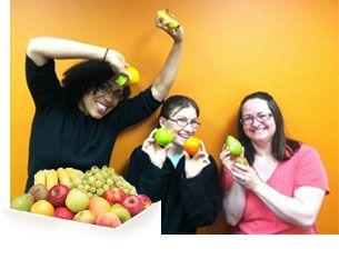 satisfacción empresas fruta en la oficina