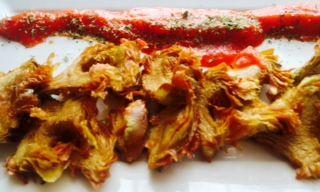 alcachofa frita arrabiatta