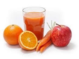 zumo zanahoria manzana naranja