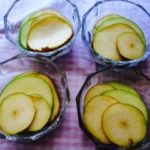 Fruta laminada en copa