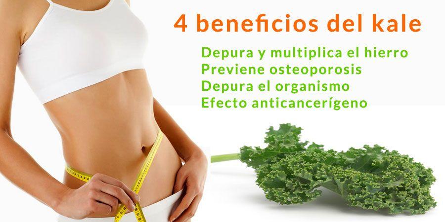 kale beneficios saludables comefruta