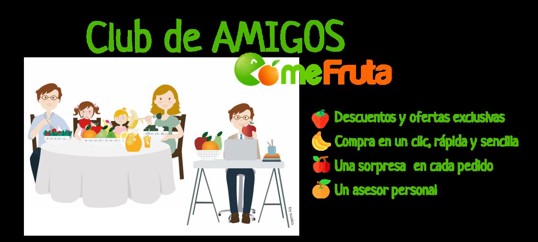 CLUB DE AMIGOS COMEFRUTA VIP