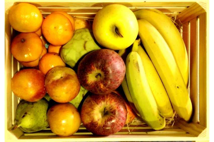 Caja fruta regalo