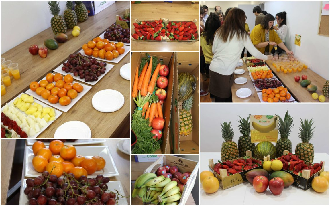 fruta en coworking