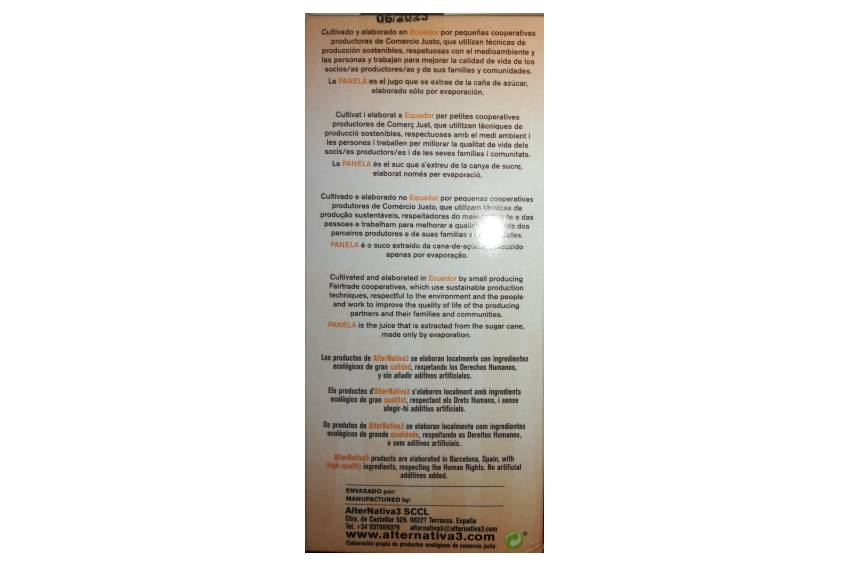 Info panela 3w