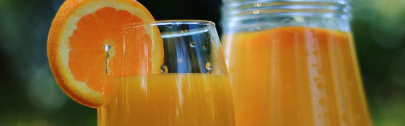 Zumo de naranja natural