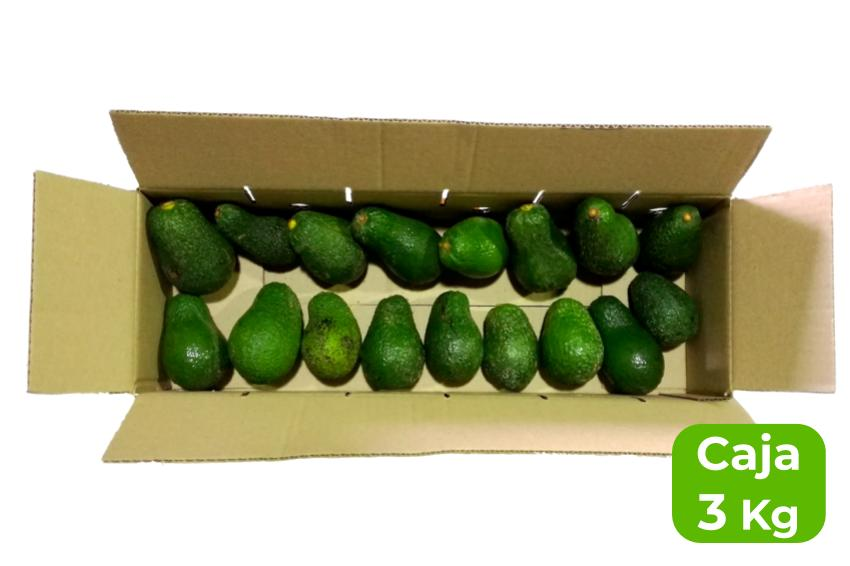 aguacate mediano caja