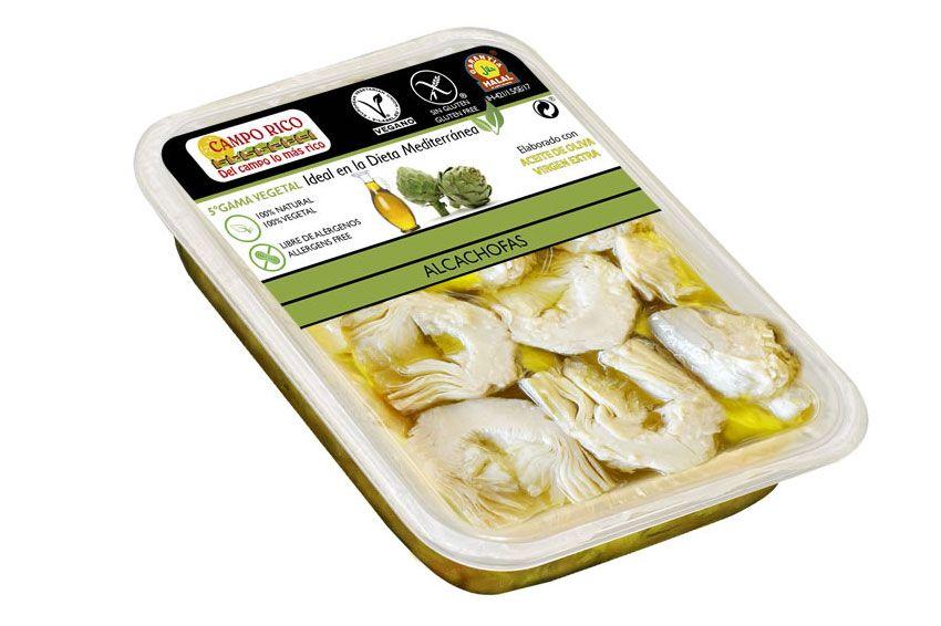 alcachofas con aceite de oliva