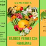 3 recetas batidos verdes