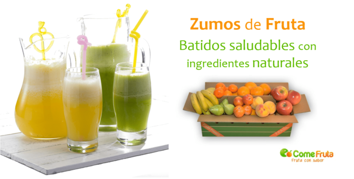 batidos y zumos de frutas