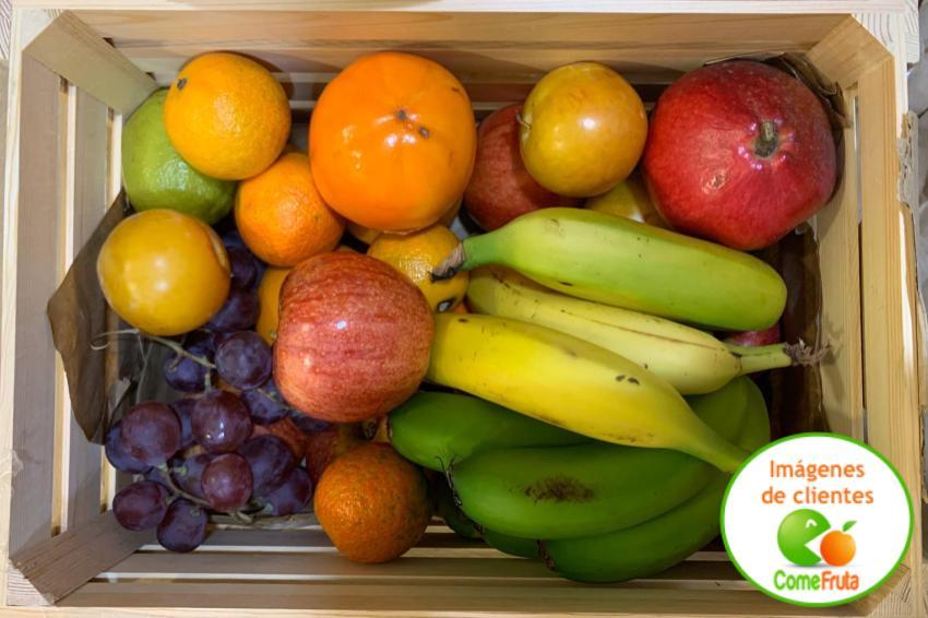 caja regalo fruta