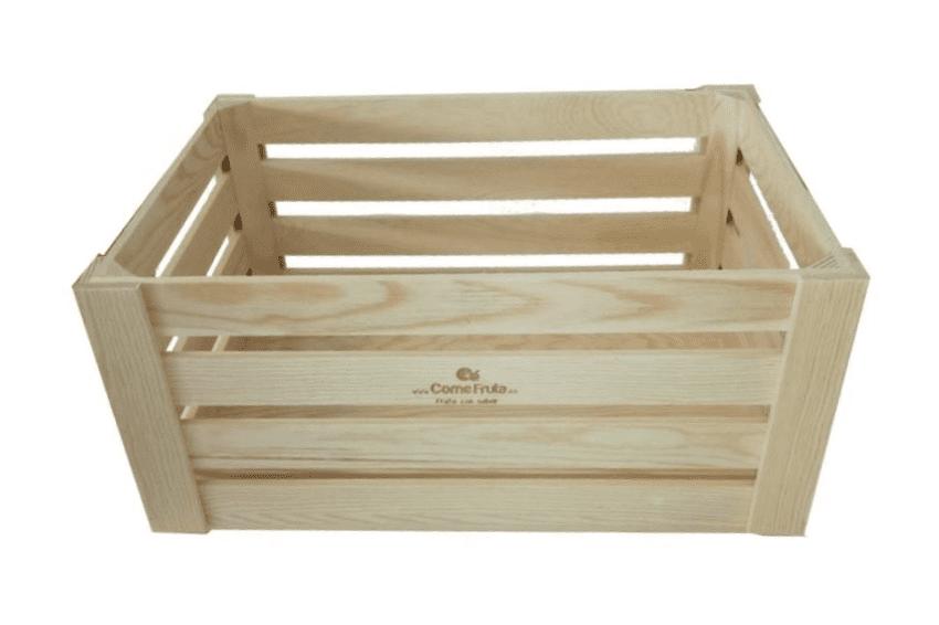 frutero caja madera
