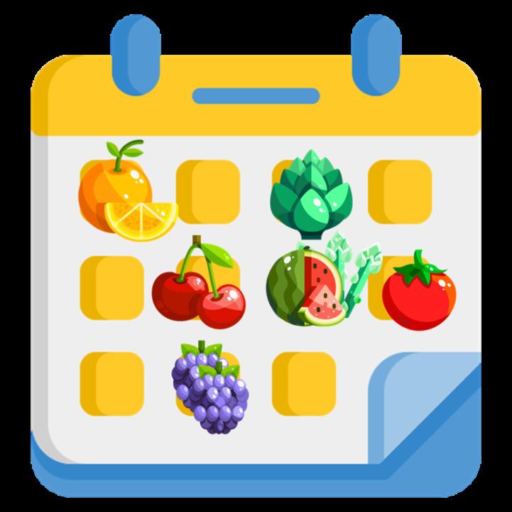 calendario fruta verdura temporada españa