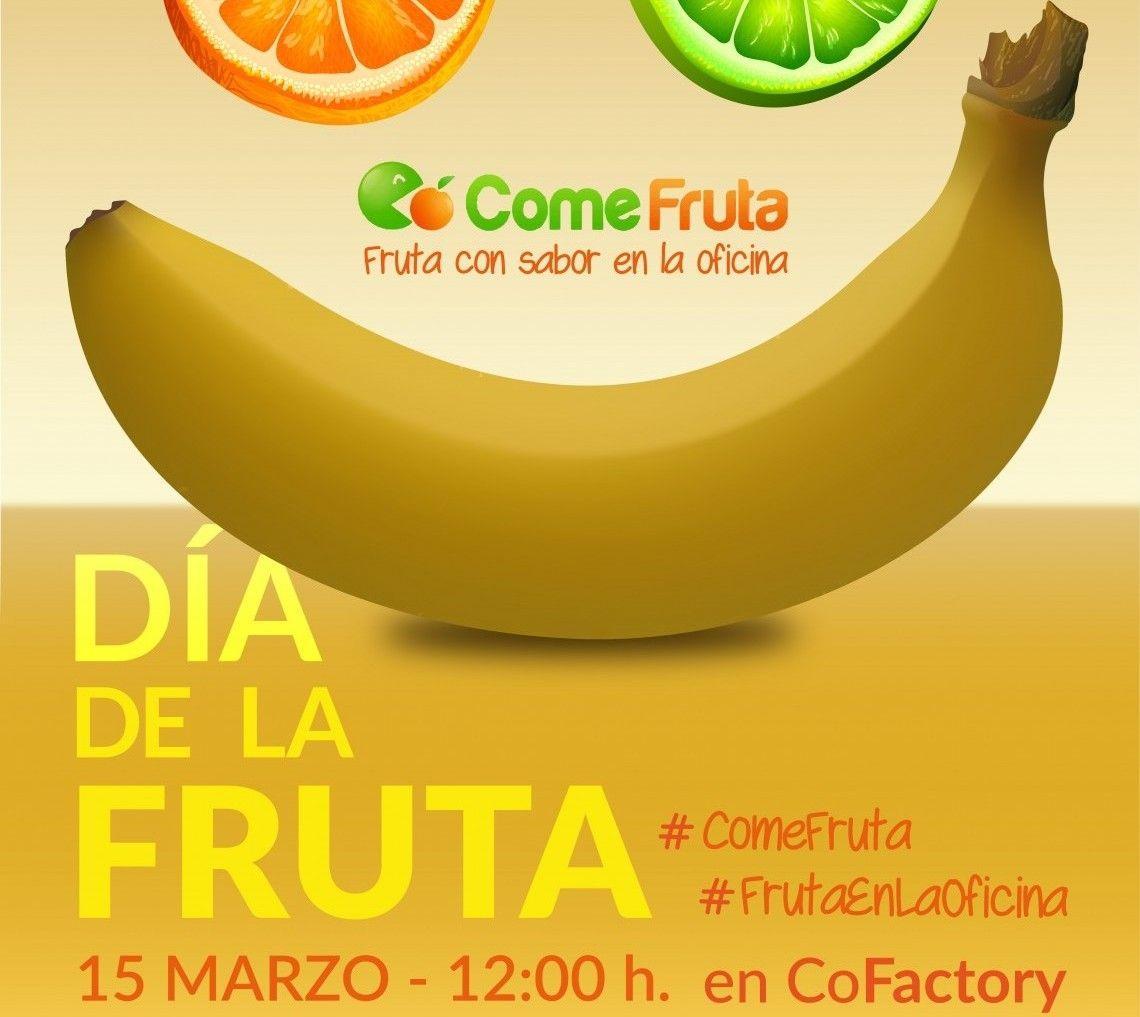 Caso de xito d a de la fruta en coworking empresas comefruta - Fruta en la oficina ...