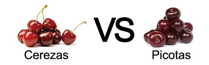 Cereza VS Picota