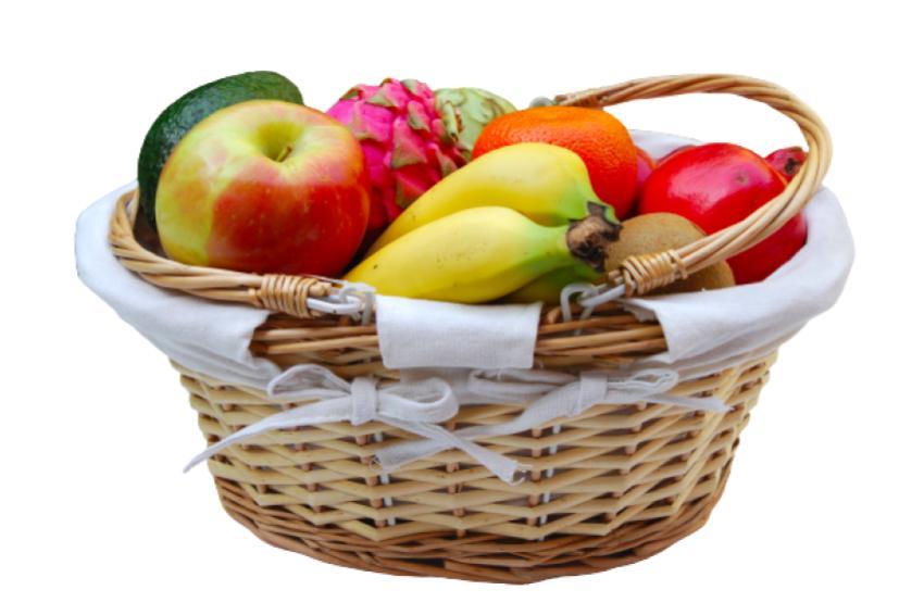 cesta fruta regalo