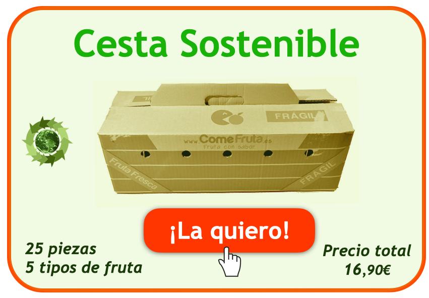 cesta sostenible comefruta suscripción