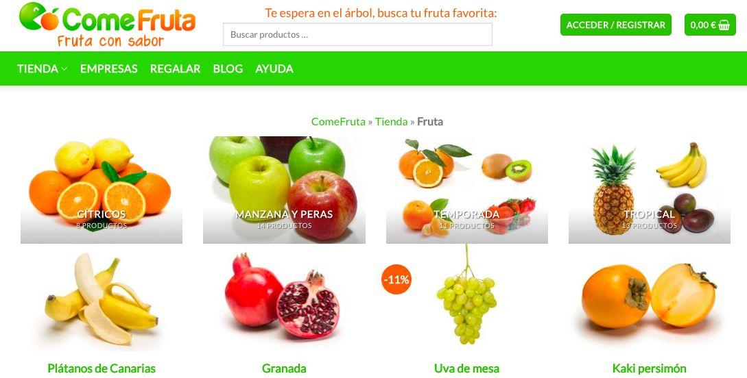 caja fruta online