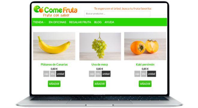 comprar fruta por internet a domicilio comefruta