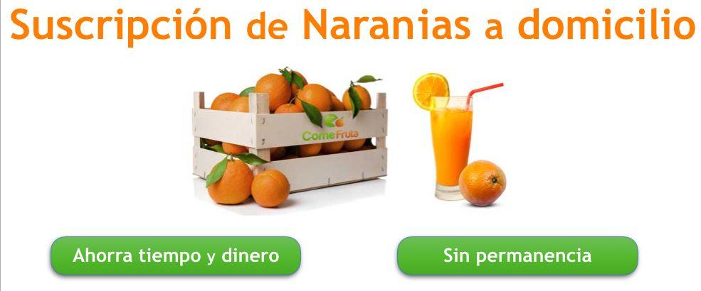 suscripción naranjas