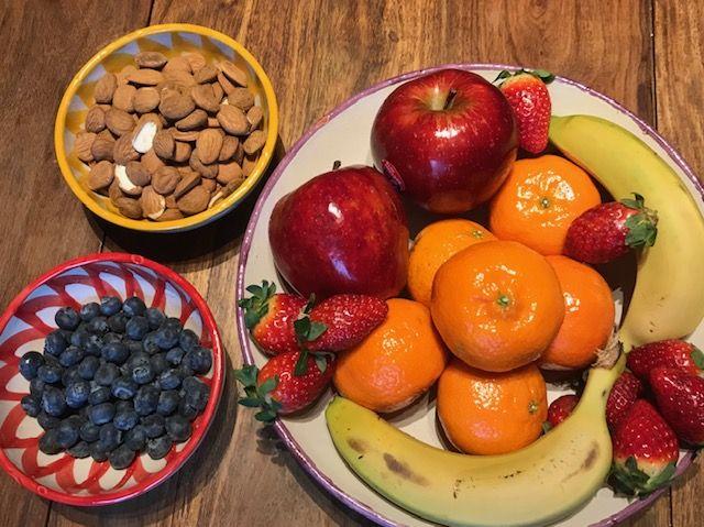 desayuno saludable en la oficina