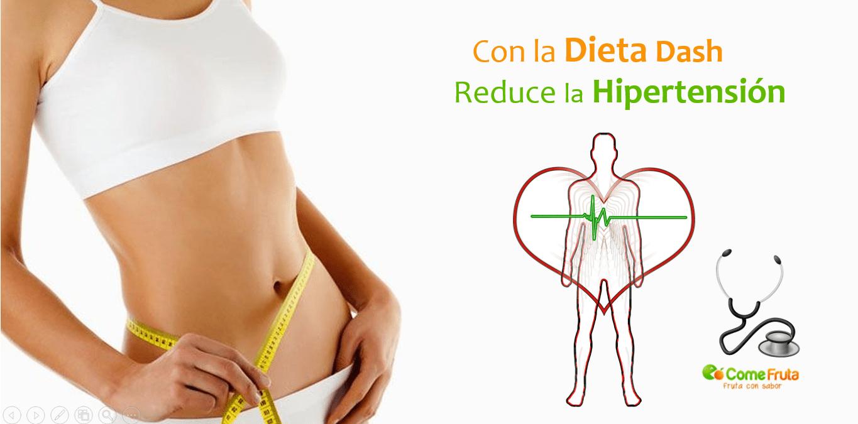 dieta dash contra la hipertensión