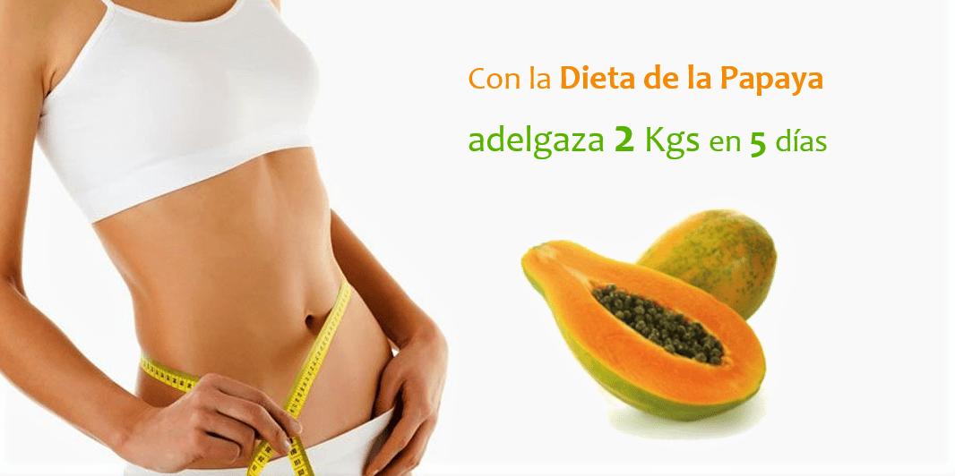 Como debo consumir la papaya para bajar de peso