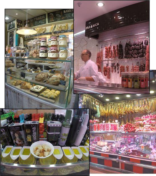 Embutido, Aceite y Pan - Mercado Central de Valencia