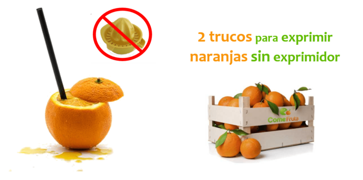 exprimir naranjas comefruta